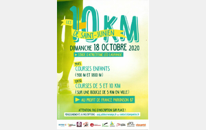 10Km Saint-Junien 2020 18/10